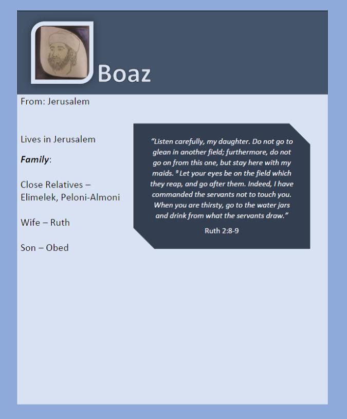 BoazProfile