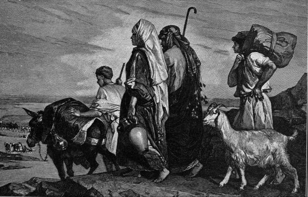 Leaving Jerusalem
