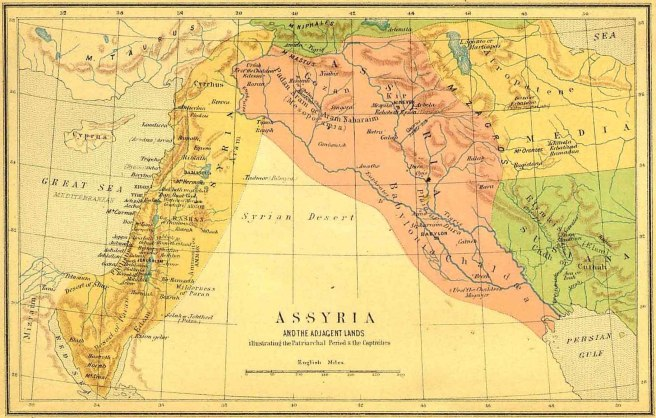 Assyria-and-Adjacent-Lands-Patriarchial-Period-and-Captivities